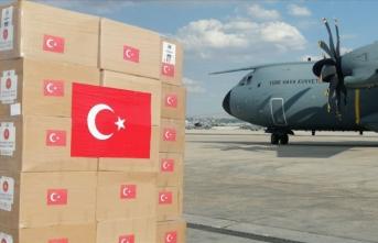 Lübnan'a tıbbi malzeme ve AFAD personelini ulaştıracak uçak havalandı