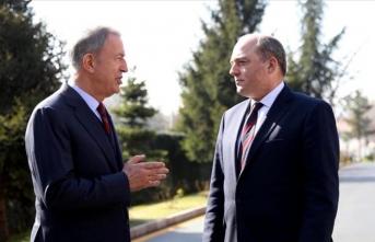Milli Savunma Bakanı Akar'dan, mevkidaşıyla önemli görüşme
