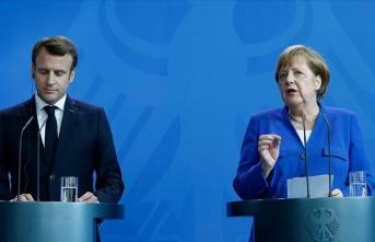 Skandal Doğu Akdeniz mesajı: Merkel ve Macron'dan kritik görüşme