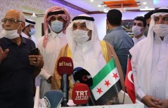 Suriyeli aşiret temsilcilerinden YPG/PKK terör örgütüne tepki