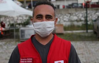 Türk Kızılay afetzedelerin ihtiyaçlarını karşılıyor