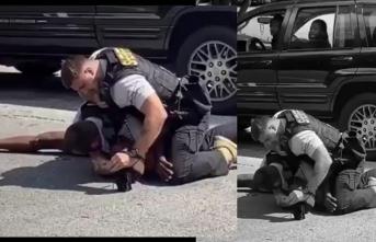 ABD'de bir siyahiyi döven polis kovuldu