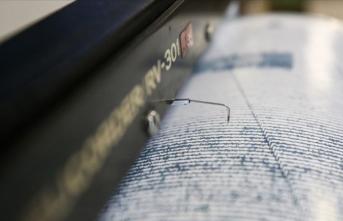 Akdeniz'de 5,7 büyüklüğünde deprem