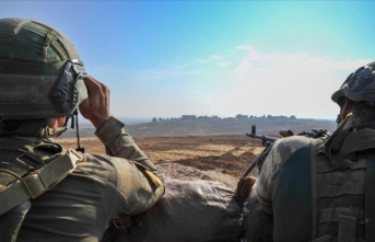 Barış Pınarı bölgesinde 8 PKK/YPG'li terörist etkisiz hale getirildi