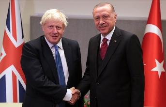 Başkan Erdoğan, Boris Johnson ile telefonda görüştü