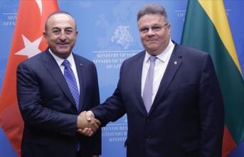 Çavuşoğlu ve Linkevicius: Türkiye ve Litvanya mükemmel ikili ilişkilere sahiptir