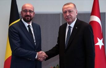 Cumhurbaşkanı Erdoğan'dan AB Konseyi Başkanı Michel'e 'objektif ve tutarlı duruş' çağrısı