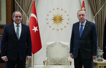 Cumhurbaşkanı Erdoğan Cezayir Dışişleri Bakanı'nı kabul etti