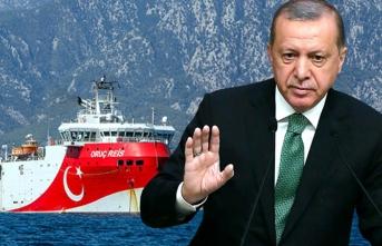 Erdoğan'dan 'Oruç Reis' mesajı! 'Limana çektiysek bunun anlamı...'