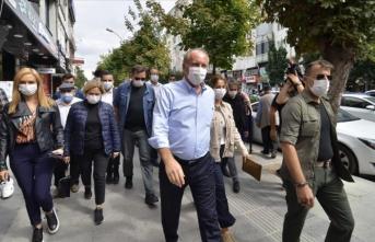 Eski CHP Milletvekili Muharrem İnce Çorum'daydı