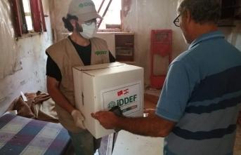 İDDEF Lübnan'da yaraları sarıyor