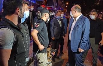 İstanbul Emniyet Müdürü 'Yeditepe Huzur' asayiş uygulamasına katıldı