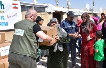 Sadakataşı Derneği'nden Lübnan'daki mültecilere acil yardım