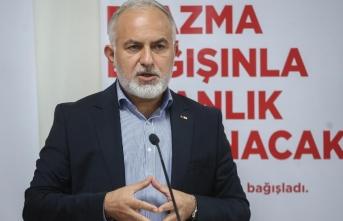 Türk Kızılay Genel Başkanı Kınık'tan 'kan bağışı' çağrısı