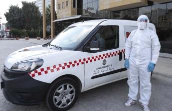 Türkiye'de ilk: Korona taksi hizmete girdi!