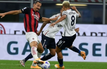 Zlatan İbrahimovic hâlâ atıyor! Milan 2-0 Bologna