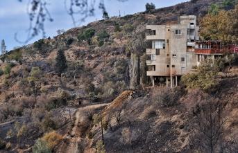 Anamur'daki orman yangını bölgesinde son durum