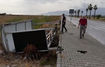 Antalya'da kuvvetli rüzgar ve dolu! 1 ölü