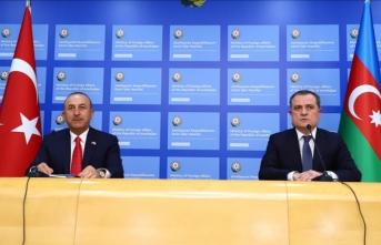 Çavuşoğlu ve Bayramov Dağlık Karabağ'daki durumu görüştü