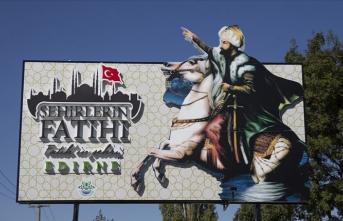 Edirneli Fatih'ten medeniyetler köprüsü Meriç'e