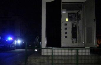 Elektrik trafosunda patlama: Yaralılar var!