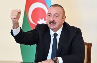 Aliyev'den intikam mesajı