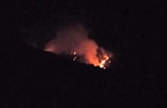 Gece kontrol altına alınmıştı: Yeniden yangın çıktı!