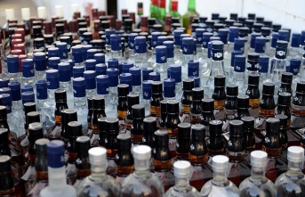 Sahte içki operasyonu: 1060 litre ele geçirildi