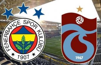 Sadece saatler kaldı! İşte F.Bahçe - Trabzonspor maçı 11'leri...