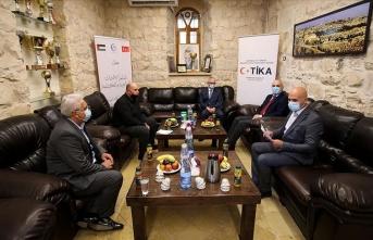 TİKA'dan Filistin kurumlarına destek