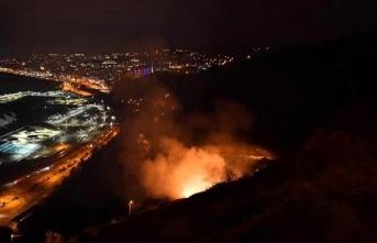 Trabzon da yandı