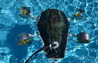 Üniversiteliler su altı drone prototipi üretti