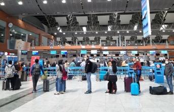 10 ayda uçan yolcu sayısı 35 milyona yaklaştı