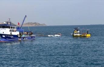 Adana'da kayalıklara çarparak batan teknedeki 6 kişi kurtarıldı