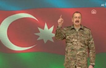 Aliyev duyurdu: Kritik öneme sahip Şuşa kenti işgalden kurtarıldı