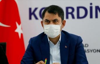 Bakan Kurum: Yeni konutları 1 yılda bitireceğiz