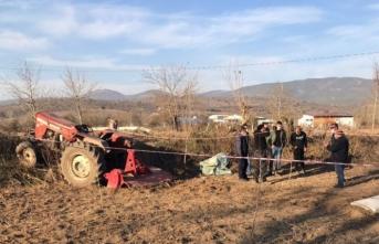 Balıkesir'de traktör kazası