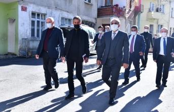 Başkan Zorluoğlu mahalle ziyaretlerine devam ediyor
