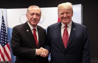 Cumhurbaşkanı Erdoğan'dan ABD Başkanı Donald Trump'a mesaj