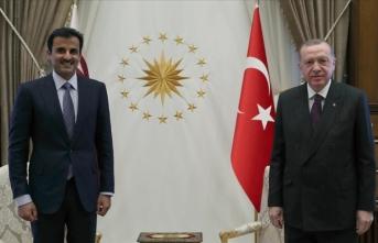 Cumhurbaşkanı Erdoğan'dan Katar mesajı!