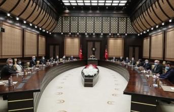 Cumhurbaşkanı Erdoğan sağlık sektörü temsilcilerini kabul etti