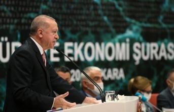 Cumhurbaşkanı Erdoğan'dan faiz uyarısı!