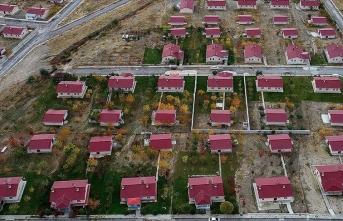Depremin yıktığı kırsal mahalleler devletin desteğiyle yeniden kuruldu