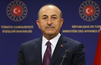 Dışişleri Bakanı Çavuşoğlu'ndan Saib Ureykat için taziye mesajı