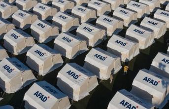 İçişleri Bakan Yardımcısı Çataklı: AFAD İzmir'de 1040 çadır kurdu
