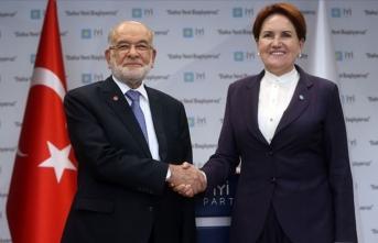 Karamollaoğlu ve Akşener'den Alaattin Çakıcı açıklaması