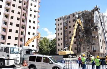 Kentsel dönüşüm alanlarında 521 milyon lira kira yardımı yapıldı
