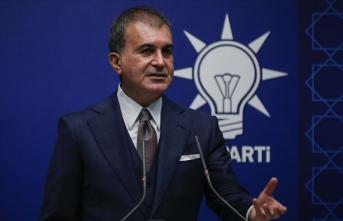Ömer Çelik: Yabancı devlet başkanından demokrasi talep etmek son derece yanlıştır