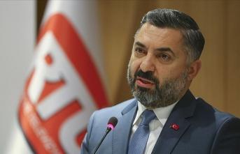 RTÜK Başkanı Şahin'den kuruluşlara uyarı
