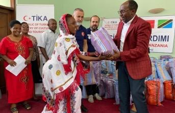 TİKA'dan Tanzanya'da sel mağdurlarına yardım